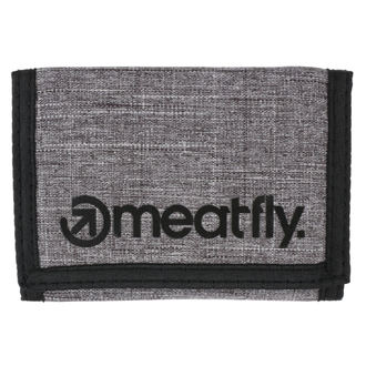 Wallet MEATFLY - Vega - Gray Heather, Black, MEATFLY