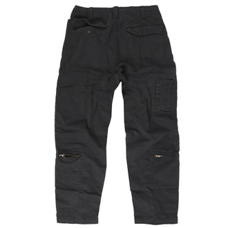 Pants Men's SURPLUS - INFANTRY CARGO - Black GE, SURPLUS