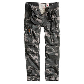 men's pants SURPLUS - PREMIUM SLIMMY - BLACK CAMO - 05-3602-42