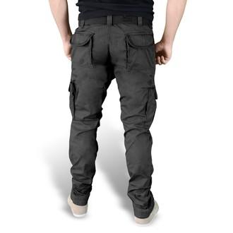 men's pants SURPLUS - PREMIUM SLIMMY - Black GE - 05-3602-63