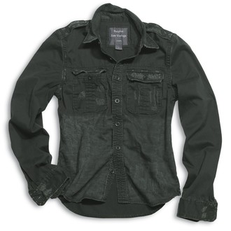 Shirt Men's SURPLUS - RAW VINTAGE - 1/1 SCHWARZ - 06-3591-63