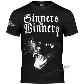 t-shirt hardcore men's - SINNERS ARE WINNERS - AMENOMEN, AMENOMEN