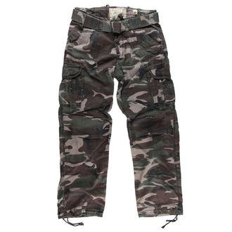pants men SURPLUS - PREMIUM VINTAGE TR. - WOODLAND - 05-3597-62