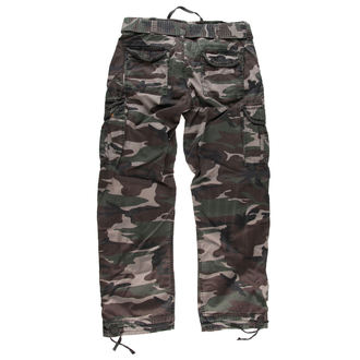pants men SURPLUS - PREMIUM VINTAGE TR. - WOODLAND, SURPLUS