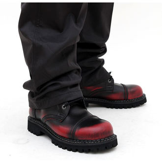 leather boots - KMM - Red/Black-140/2