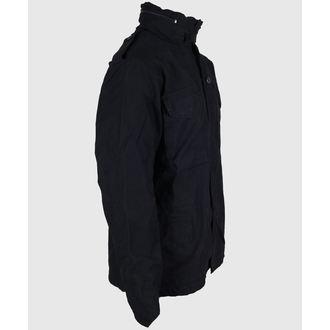jacket men spring/autumn M65 Fieldjacket NyCo washed - BLACK - 100304