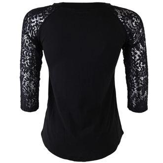 t-shirt gothic and punk women's - Dahlia - TOO FAST - WTDH-T-CALA