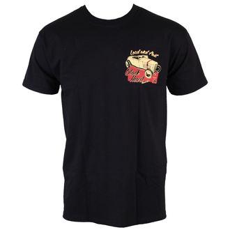 t-shirt street men's - Loud And Fast - BLACK HEART, BLACK HEART