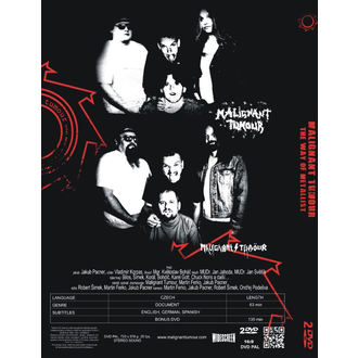 DVDs Malignant Tumour - The Way Of Metallist