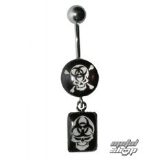 piercing jewel Skull - 4PCS - 16 - MABR
