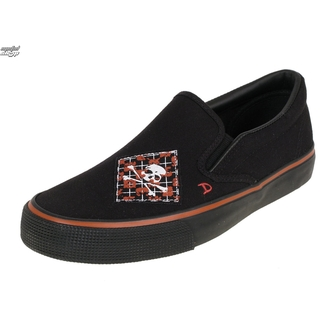low sneakers men's - Argyle Patch Slip on - DRAVEN - MCDR 860, DRAVEN