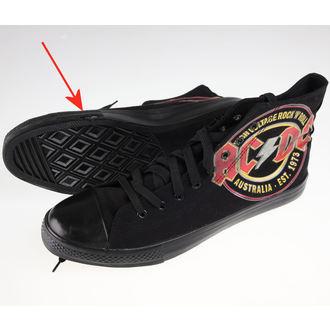 high sneakers men's AC-DC - Sneakers - F.B.I., F.B.I., AC-DC