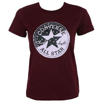 t-shirt street women's - Spliced Leopard - CONVERSE, CONVERSE