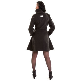 coat women's VIXXSIN - NECROMANCER - GREY, VIXXSIN