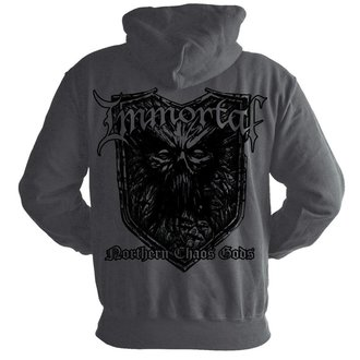 hoodie men's Immortal - Chaos GREY - NUCLEAR BLAST, NUCLEAR BLAST, Immortal