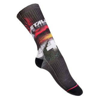 Socks Metallica - MOP Black - RTMTLSOBMOP