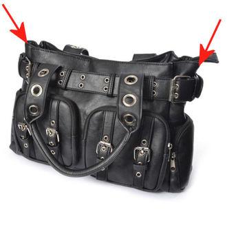 Handbag (bag) POIZEN INDUSTRIES - EVE - BLACK - DAMAGED, POIZEN INDUSTRIES