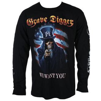 t-shirt metal men's Grave Digger - UNCLE SAM 2016 - Just Say Rock - GDR105