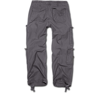 pants men BRANDIT - Pure Vintage Trouser Anthracite - 1003/5