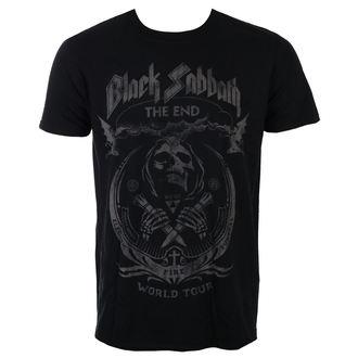 t-shirt metal men's Black Sabbath - The End Mushroom Cloud - ROCK OFF - BSTS25MB
