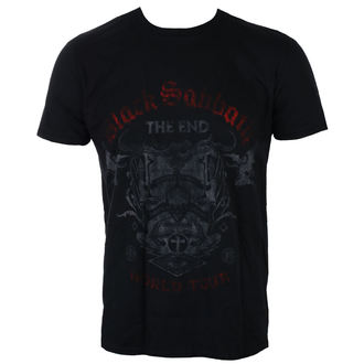 t-shirt metal men's Black Sabbath - The End Reading Skull - ROCK OFF, ROCK OFF, Black Sabbath