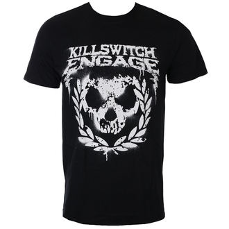 t-shirt metal men's Killswitch Engage - Skull Spraypaint - ROCK OFF - KSETS09MB