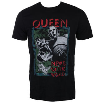 t-shirt metal men's Queen - News of the World - ROCK OFF, ROCK OFF, Queen