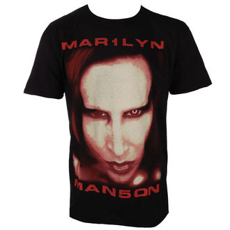 t-shirt metal men's Marilyn Manson - Bigger Than Satan - ROCK OFF, ROCK OFF, Marilyn Manson