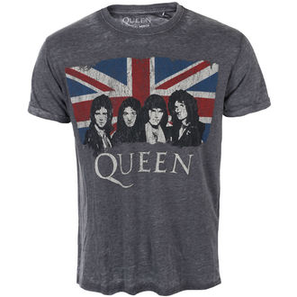 t-shirt metal men's Queen - Vintage Union Jack - ROCK OFF, ROCK OFF, Queen