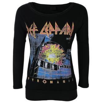 t-shirt metal women's Def Leppard - VINTAGE PYROMANIA - LIVE NATION, LIVE NATION, Def Leppard