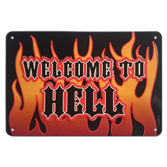 Sign Welcome to Hell - Rockbites, Rockbites