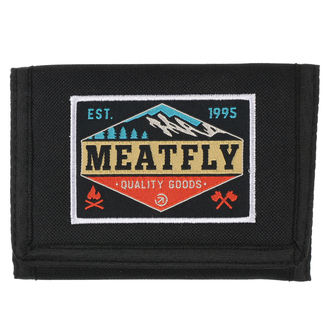Wallet MEATFLY - Gimp - Black, Turquoise, MEATFLY