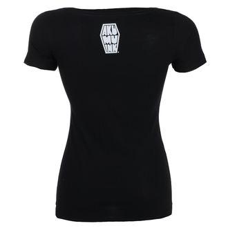 t-shirt hardcore women's - Insatiable Frenzy Scoop - Akumu Ink, Akumu Ink