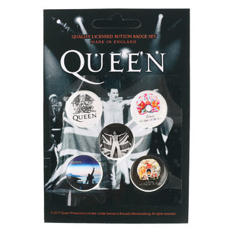 Pin Badges Queen - RAZAMATAZ, RAZAMATAZ, Queen
