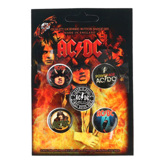 Pin Badges AC / DC - RAZAMATAZ, RAZAMATAZ, AC-DC