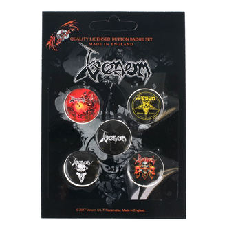 Pin Badges Venom - RAZAMATAZ - BB012