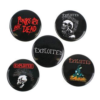 Pin Badges Exploited - RAZAMATAZ, RAZAMATAZ, Exploited