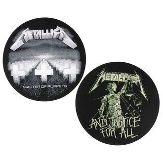 Gramophone Mat - 2 pieces -  Metallica - RAZAMATAZ, RAZAMATAZ, Metallica