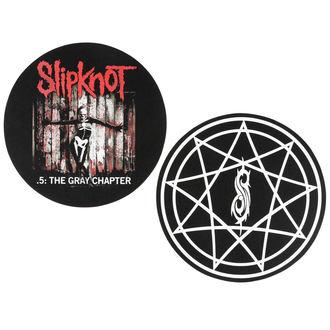 Gramophone Mat - 2 pieces - Slipknot - RAZAMATAZ, RAZAMATAZ, Slipknot