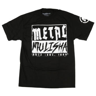 t-shirt street men's - BLOCK - METAL MULISHA, METAL MULISHA