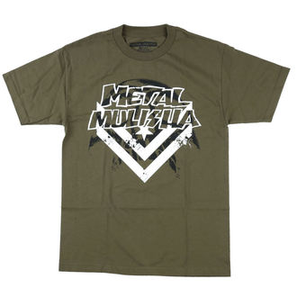 t-shirt street men's - DARKNESS - METAL MULISHA, METAL MULISHA