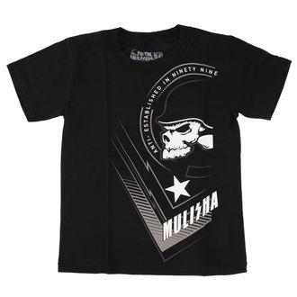 t-shirt street children's - STRETCH - METAL MULISHA - BLK_FA7L18004.01