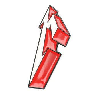 Tack Metallica - 3D M, Metallica