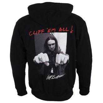 hoodie men's Metallica - Cliff Burton - NNM, NNM, Metallica