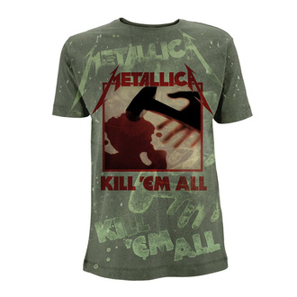 t-shirt metal men's Metallica - Kill 'Em All - NNM, NNM, Metallica