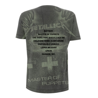 t-shirt metal men's Metallica - Master Of Puppets - NNM, NNM, Metallica