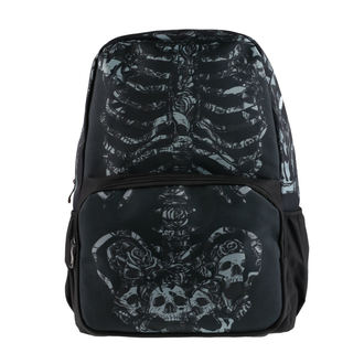 Backpack HEARTLESS - ROSE CAGE - BLACK, HEARTLESS