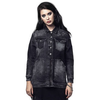 spring/fall jacket women's - SOUTH MESH - DISTURBIA, DISTURBIA