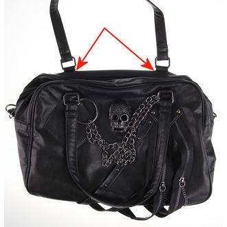 handbag (bag) QUEEN OF DARKNESS - Skulls - DAMAGED, QUEEN OF DARKNESS