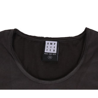 t-shirt metal women's - CHARCOAL - AMPLIFIED, AMPLIFIED